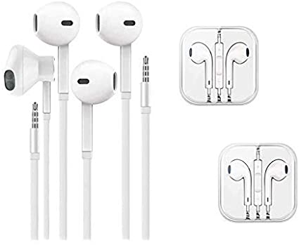 Amazon Com Qx 3 5mm In Ear Wired Earbuds Earphones Headphones With Remote Micphone Compatible With Apple Iphone 6s P Apple Iphone 6s Plus Earbuds Headphones