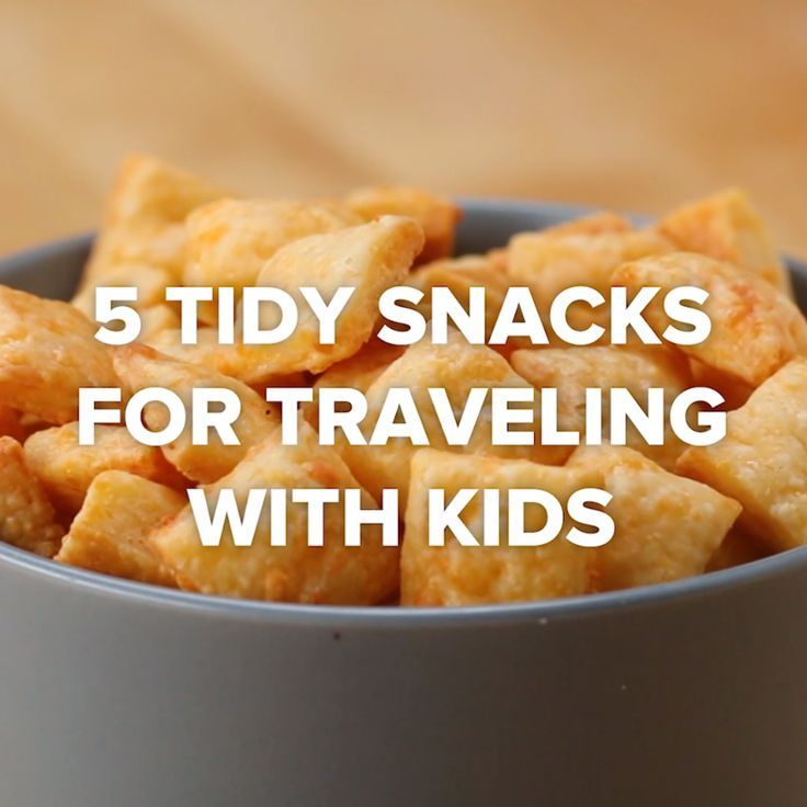 Children's Snacks to Pack for Traveling  | Recipes