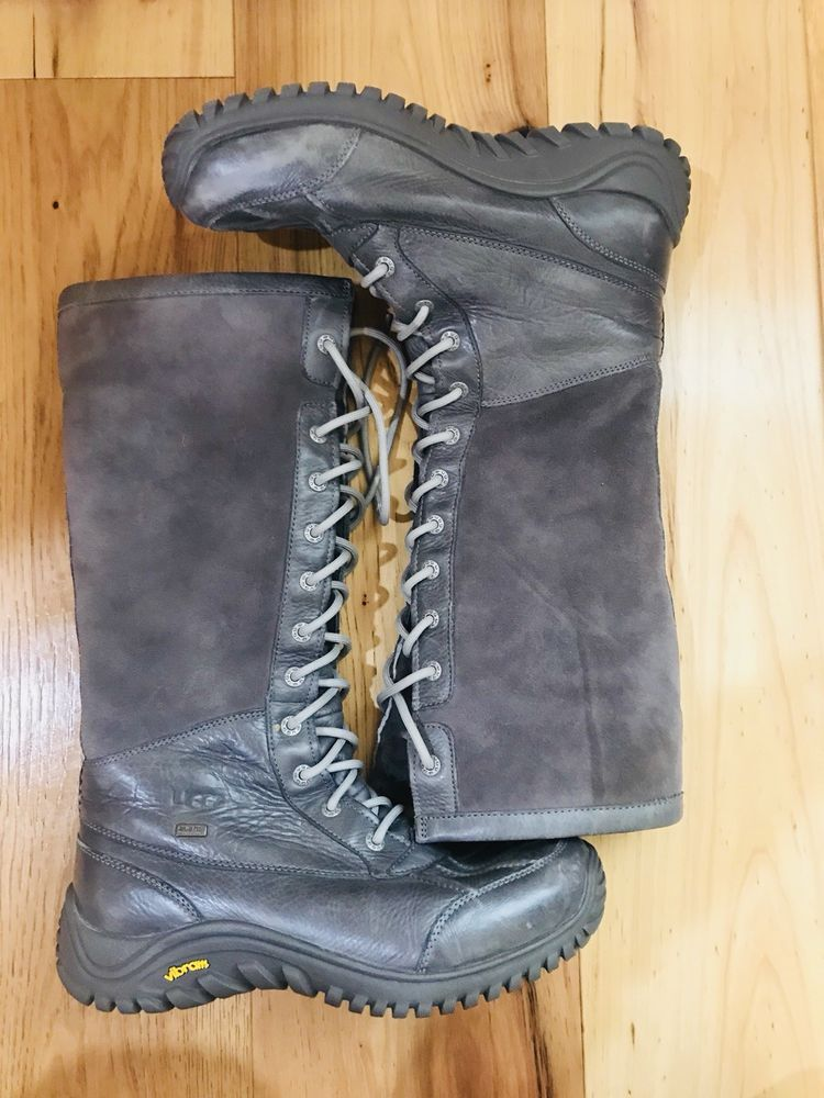 size 40 93d73 86aa3 UGG S N 1001786 Australia Lined Vibram Snow Winter Boots Women s US 9.5  Grey  fashion  clothing  shoes  accessories  womensshoes  boots (ebay link)
