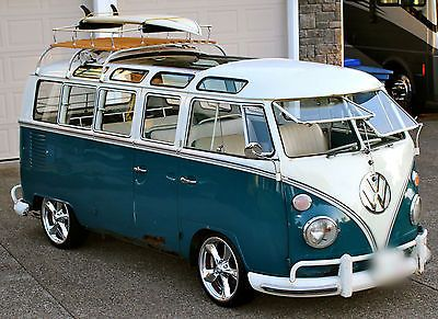 21 window, micro bus, 1966, bus, transporter, deluxe #amazingcars