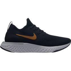 Photo of Nike women's running shoes Epic React Flyknit, size 40 ½ in black / metallic gold-Mtlc Plati, size 40 ½ I