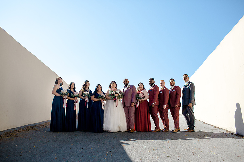 How To Style Mixed Gender Bridal Parties Ft Blog Pink Bridal Party Bridal Party Wedding Parties Colors