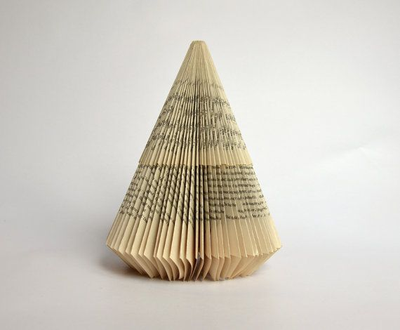 Last minute DIY Tutorial for folded Book Art  by PaperStatement, €5.50