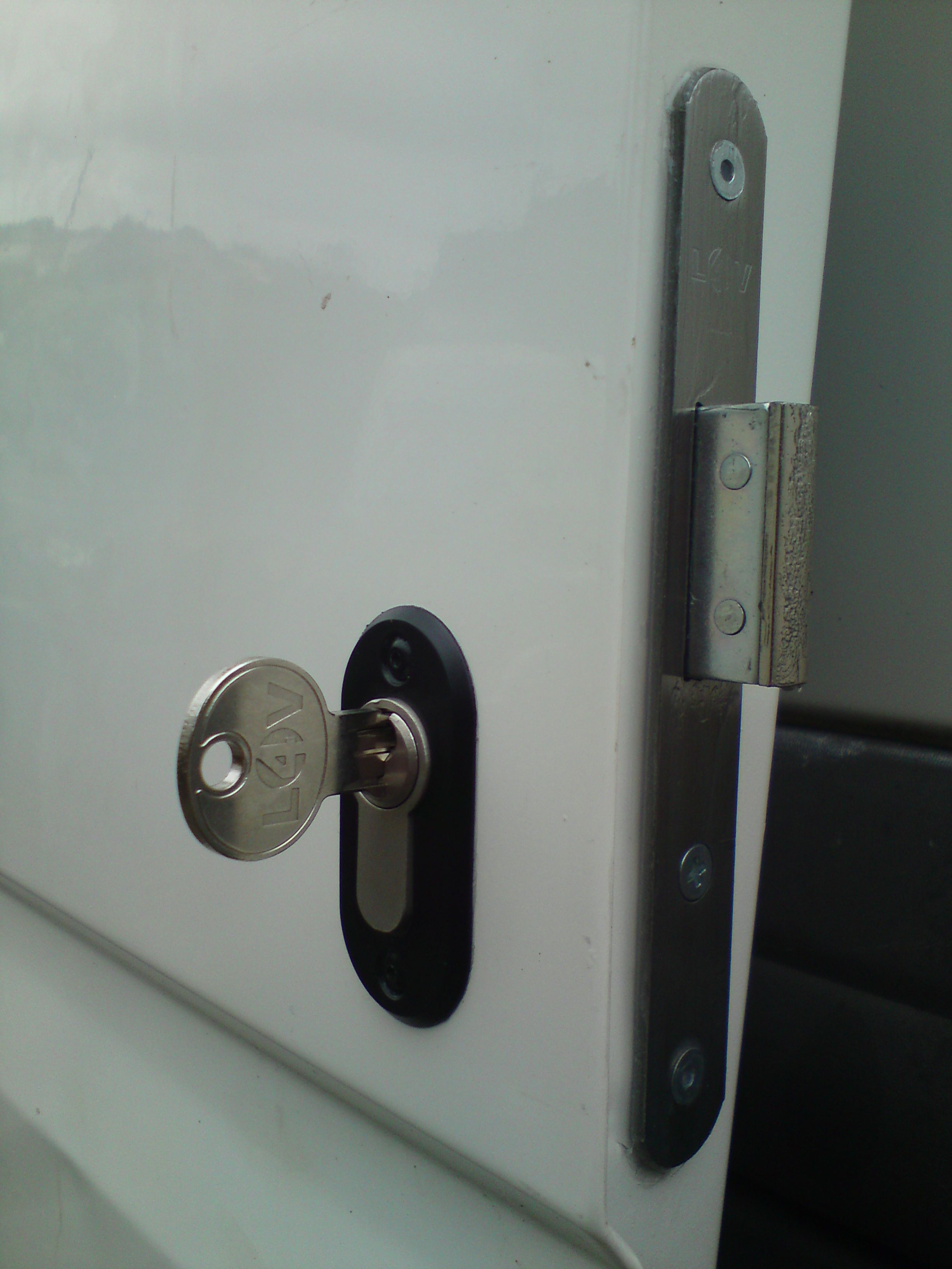 Side View Deadlock Derby East Midlands Security Door