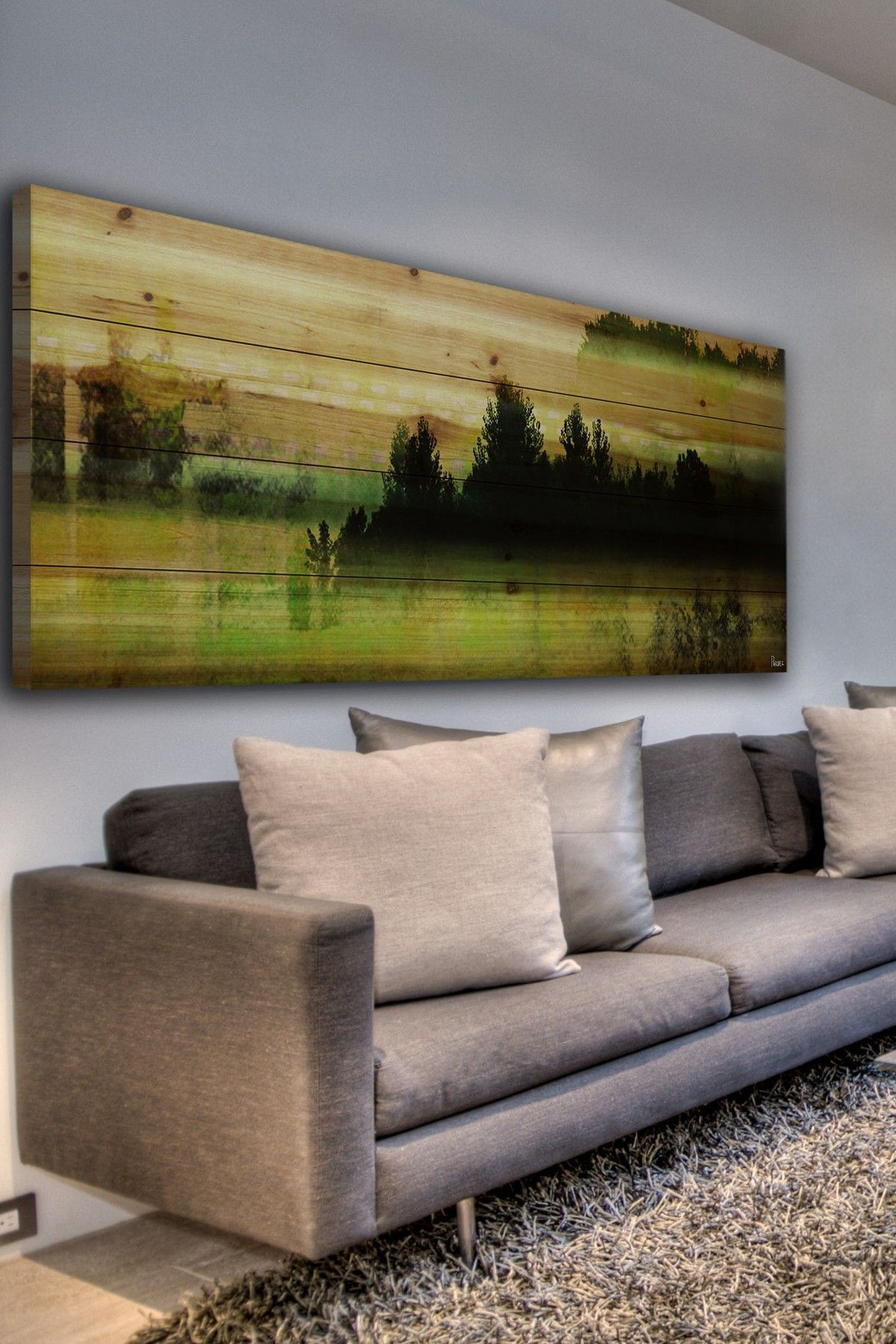 Departure lounge brown distressed wood wall art on hautelook for