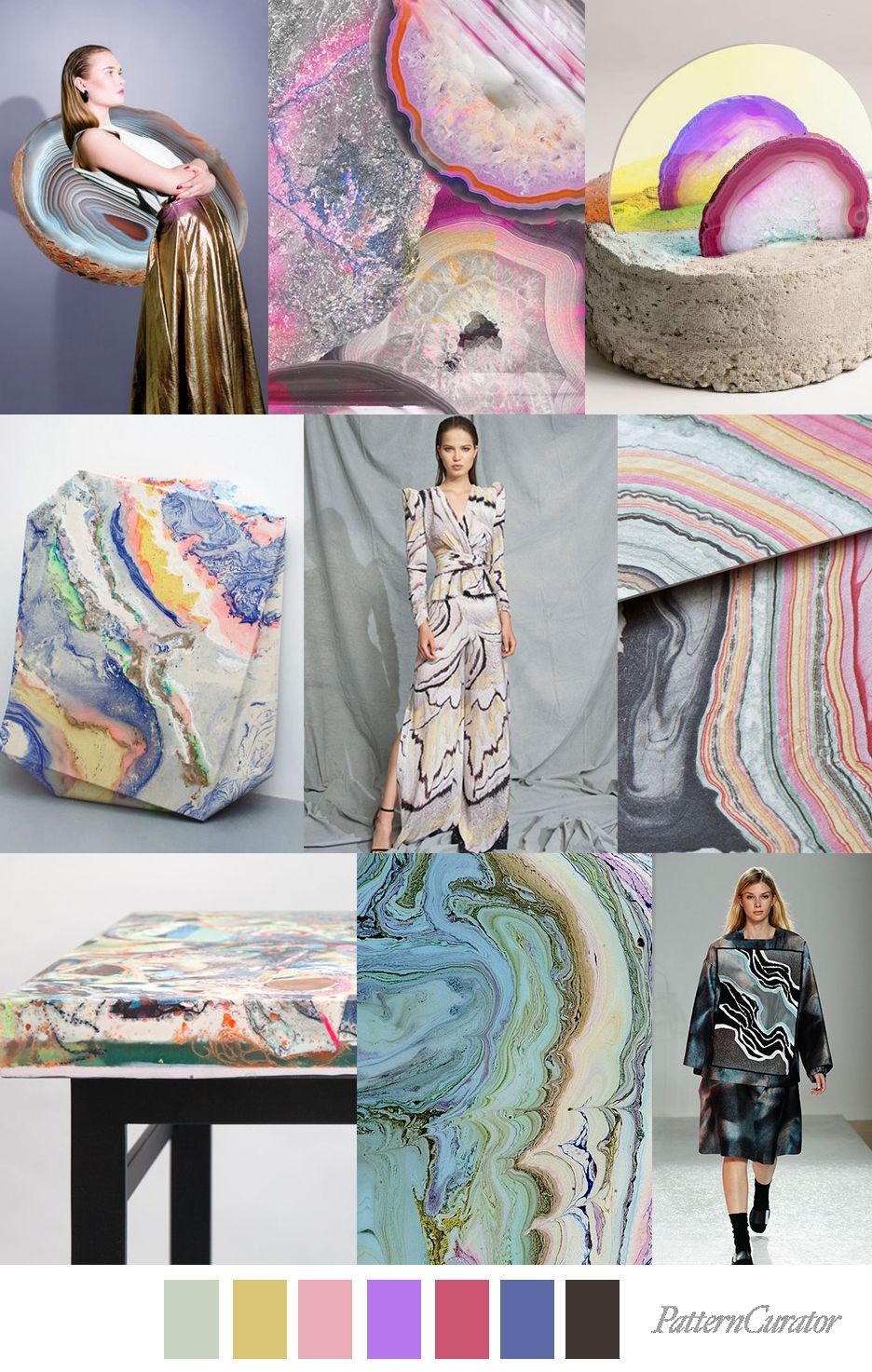 2020 Art Trends.Mineral Art Summer Fashion Trends Fashion Fashion Trends