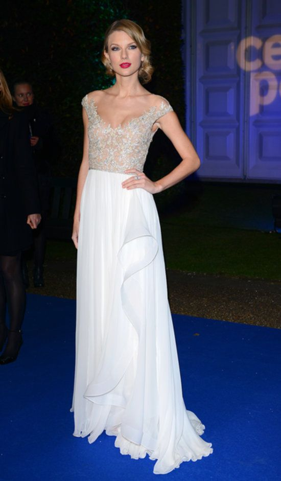 Style Set: This Week's Best Dressed: Taylor Swift at the Winter Whites Gala in London.
