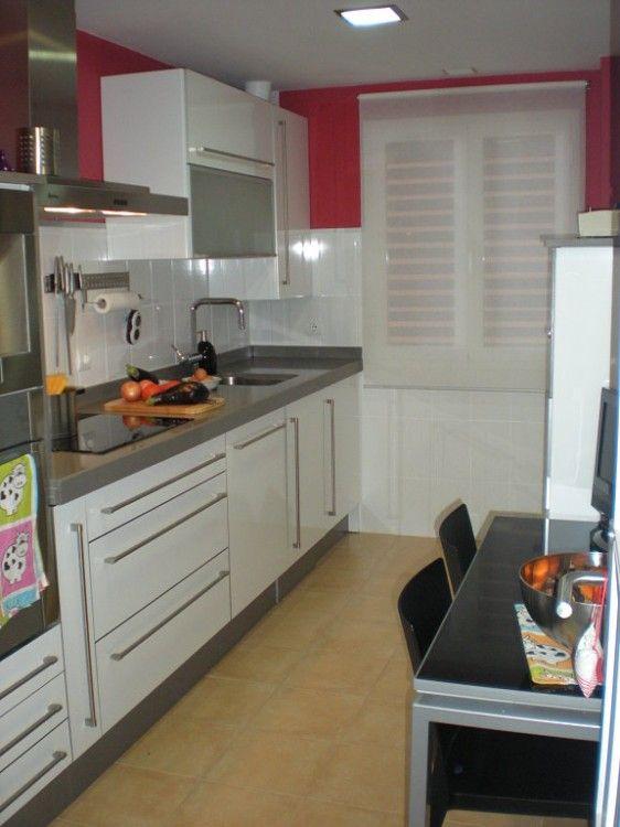 Cocinas Estrechas Cuines Pinterest Cocina Estrecha