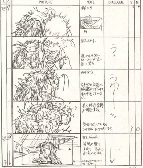 The Magic of Animation Storyboard Art Pinterest Animation - anime storyboard