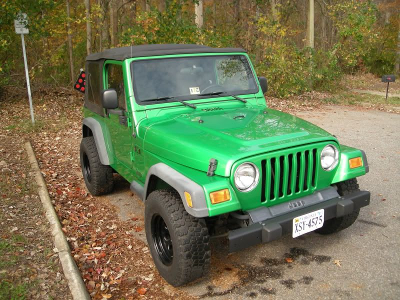 Green Jeep Wrangler I Wanna Paint My Jeep This Color Green Jeep