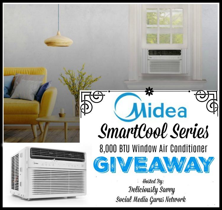 Midea SmartCool Series 8,000 BTU Window Air Conditioner