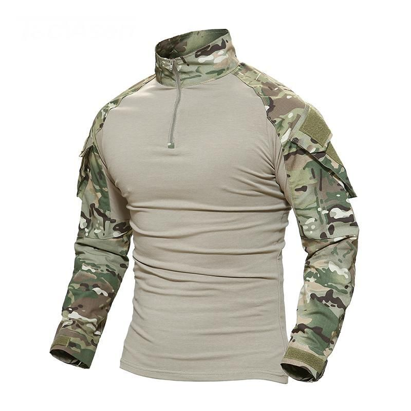 Casual Shorts Flight Tracker Mens Quick-drying Military Uniforms Set Us Army Costume Women Physical Training Suits Short Sleeve T-shirts Pants Camo Uniform