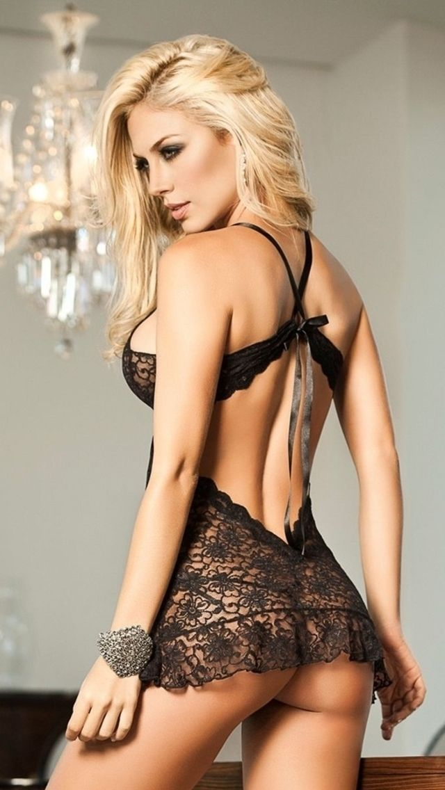 Teen Blonde Lingerie