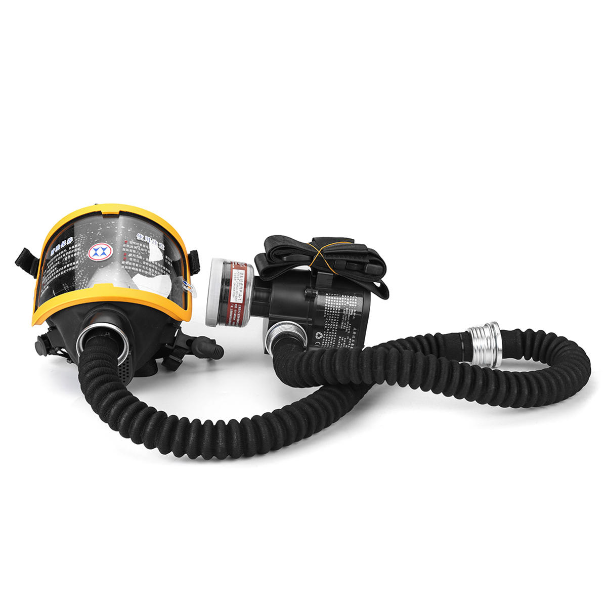 Electric Constant Flow Supplied Air Fed Full Face Gas Mask Respirator System Labor Insurance Supplies From Security Protection On Banggood Com Gas Mask Gas Masks Respirators Gas