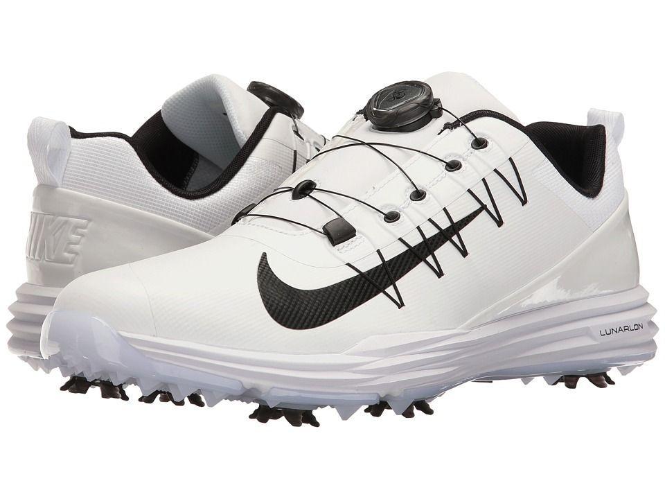 3928fd7ad4dd Nike Golf Lunar Command 2 BOA Men s Golf Shoes White Black White ...