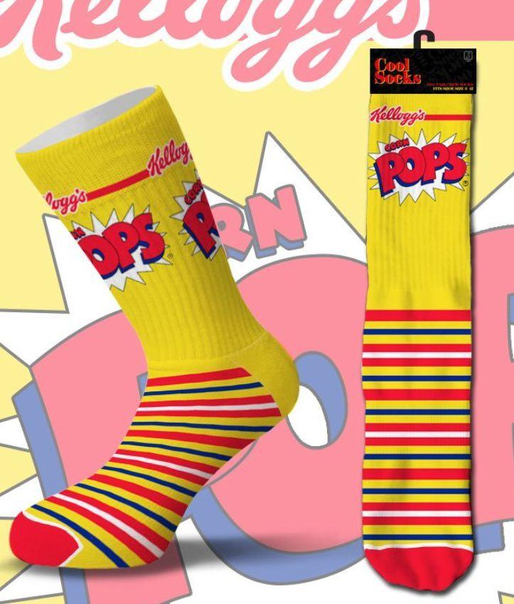 Corn Pops, Pop, Crew Socks