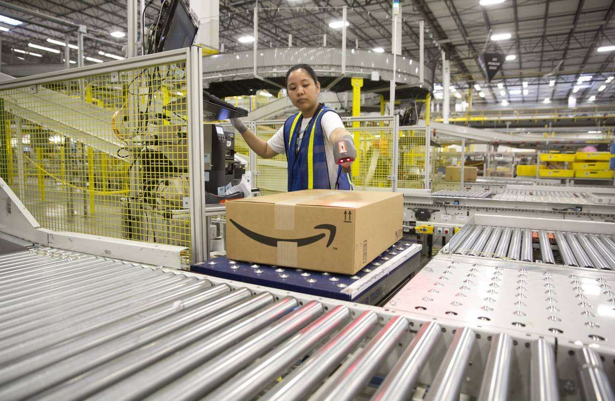 Amazons fulfillment facilities are the engine of this