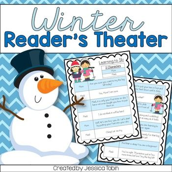 Reader S Theater Winter Activities For Reading Penguin Unit