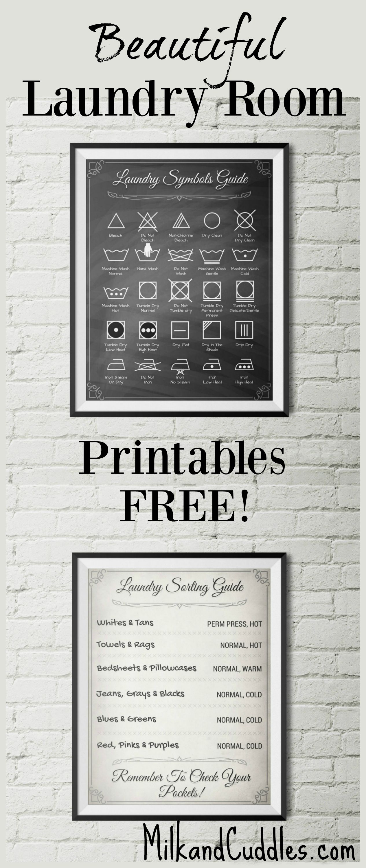 Free printables for laundry room laundry rooms free printables