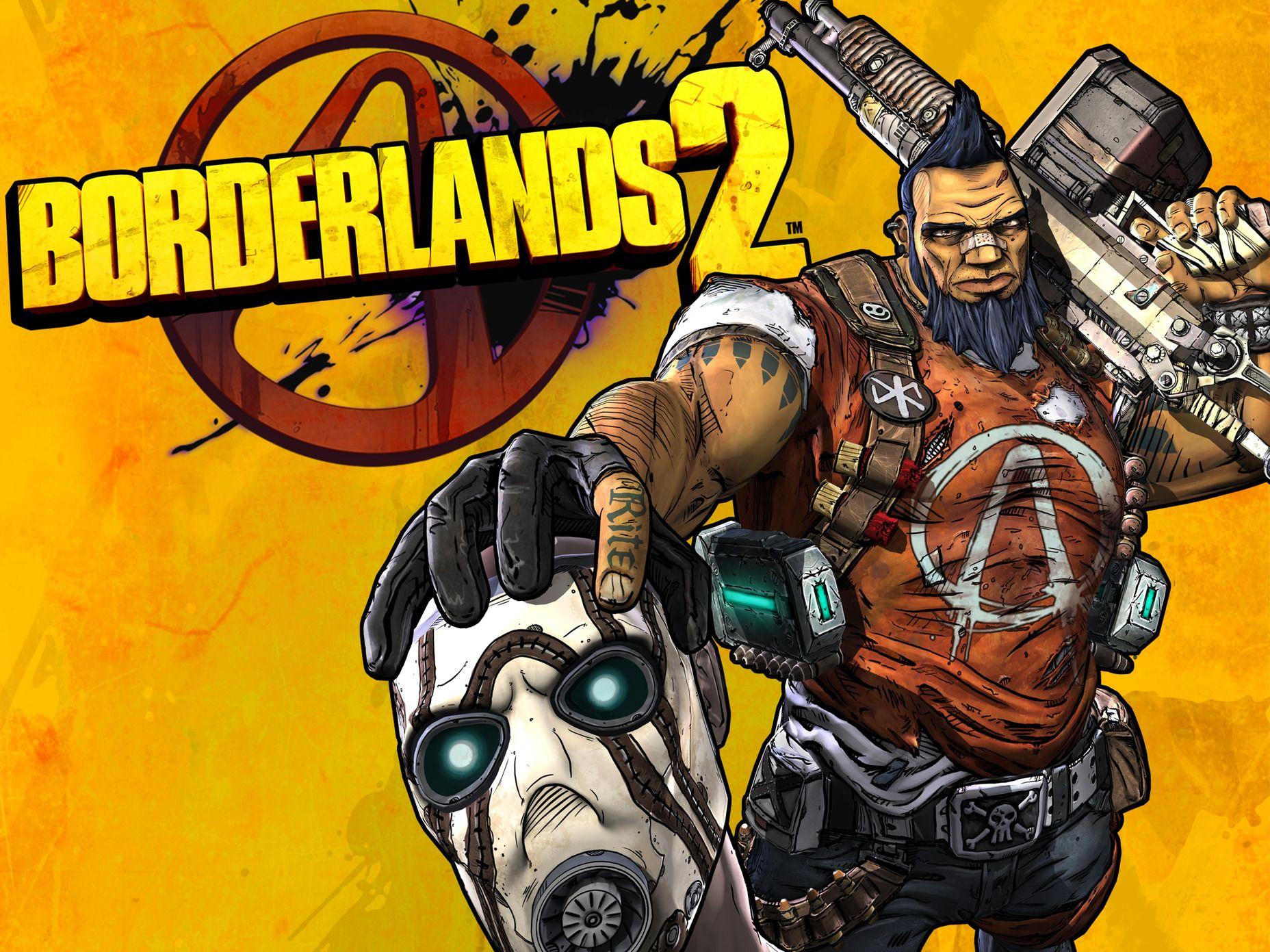 Borderlands 2 Ps3 Wallpaper Borderlands Borderlands 2 Game Wallpaper