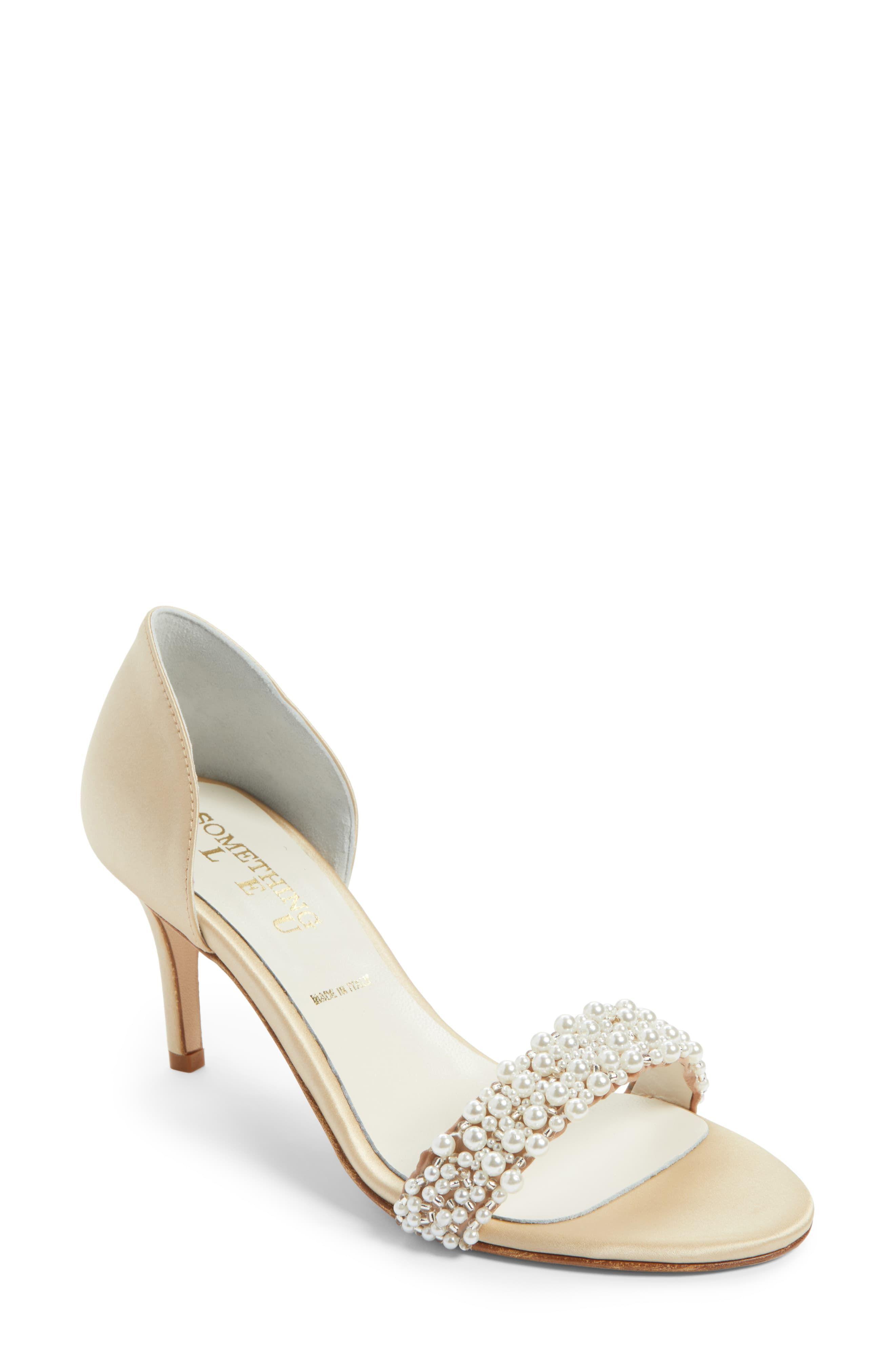Evening shoes low heel, Womens sandals