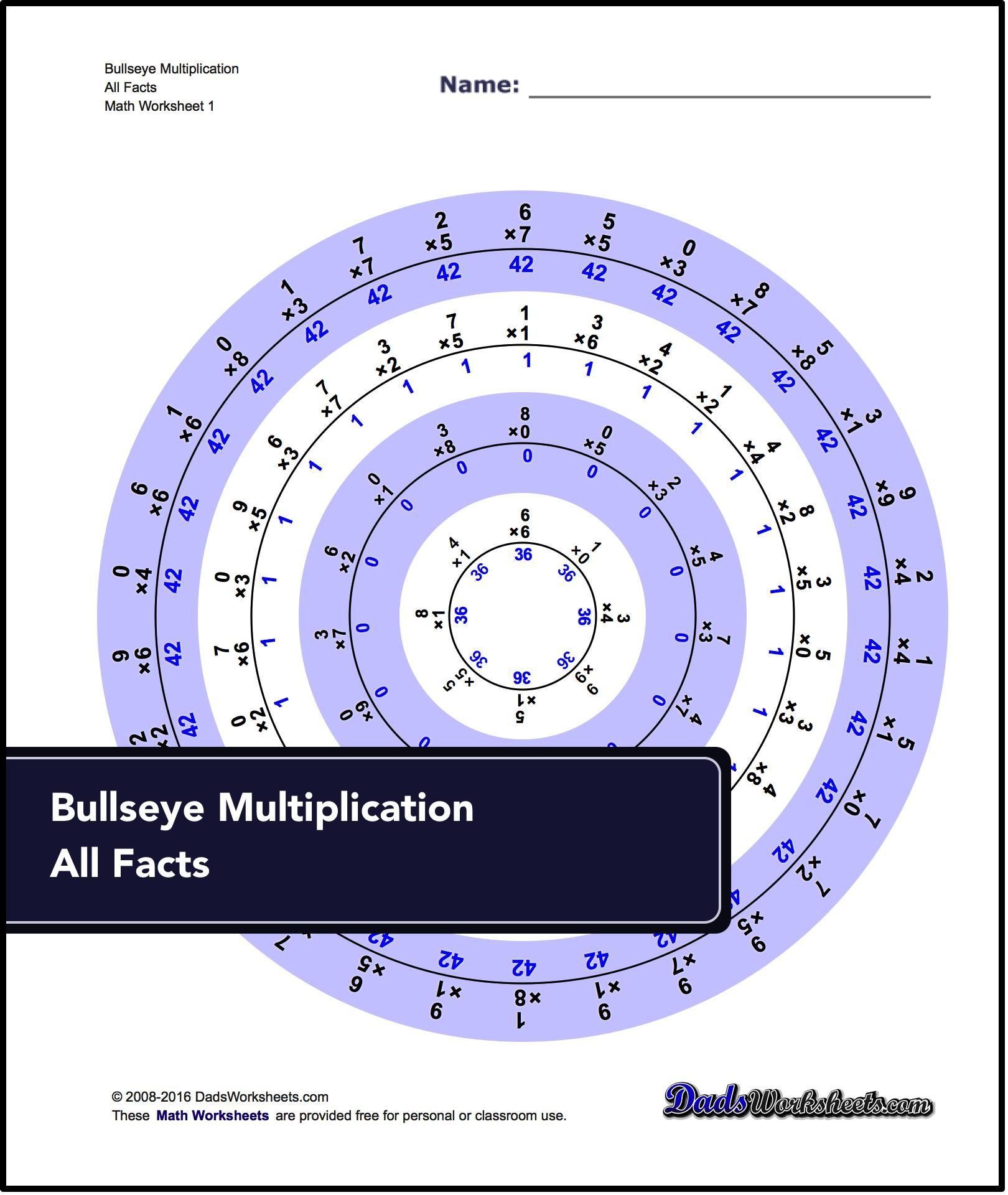 These Practice Multiplication Worksheets Support The Concepts In Dad S Eight Simple Rules For