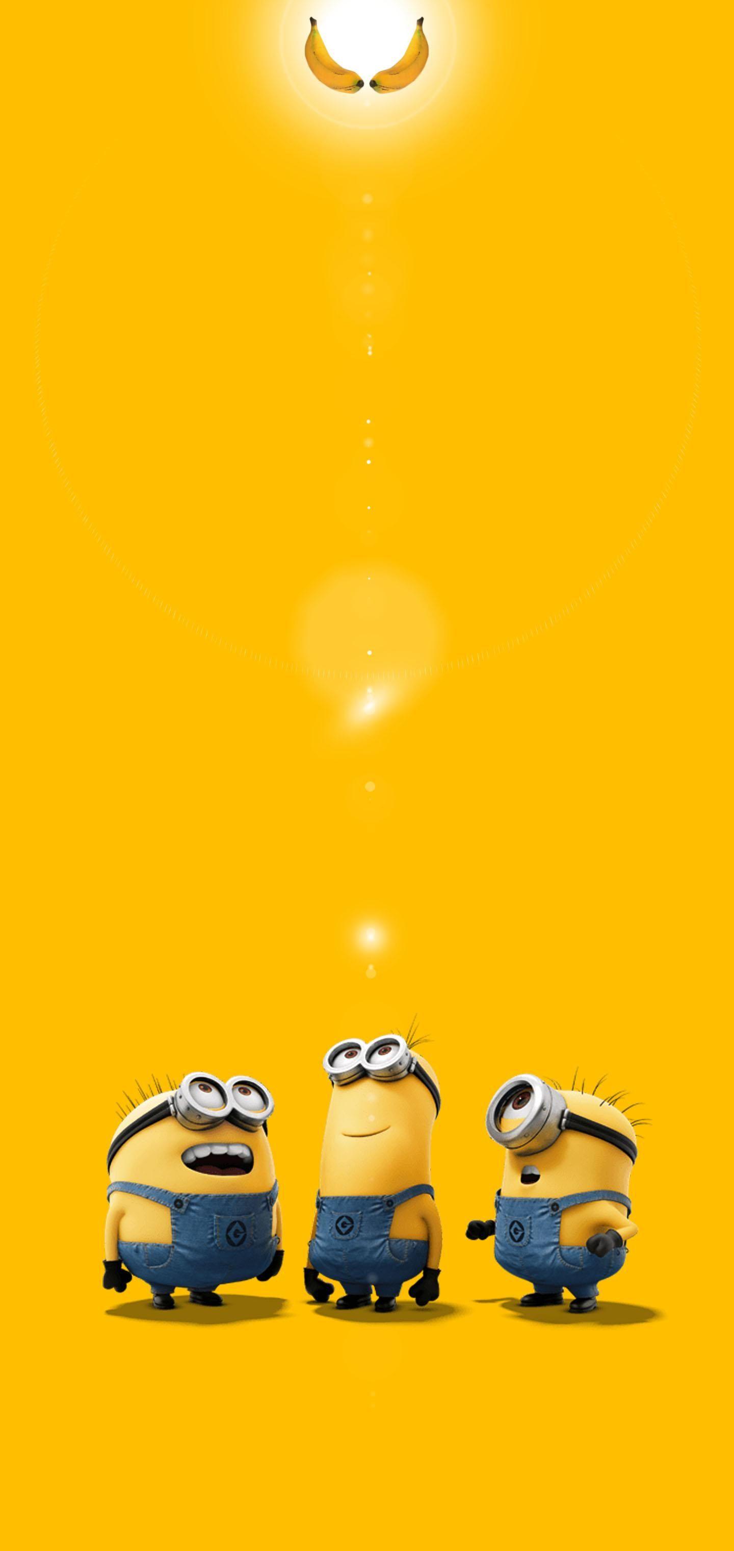 Gn 011 In 2020 Cute Minions Wallpaper Minions Wallpaper Minion Wallpaper Iphone