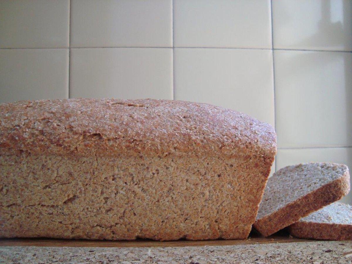 pan de liberado de trigo récipe facil