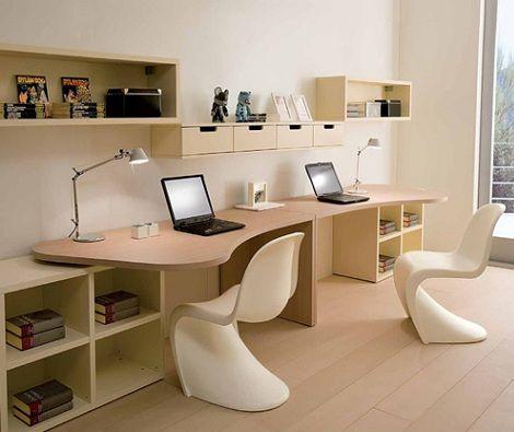 ideas de escritorios juveniles baratos escritorio para dos