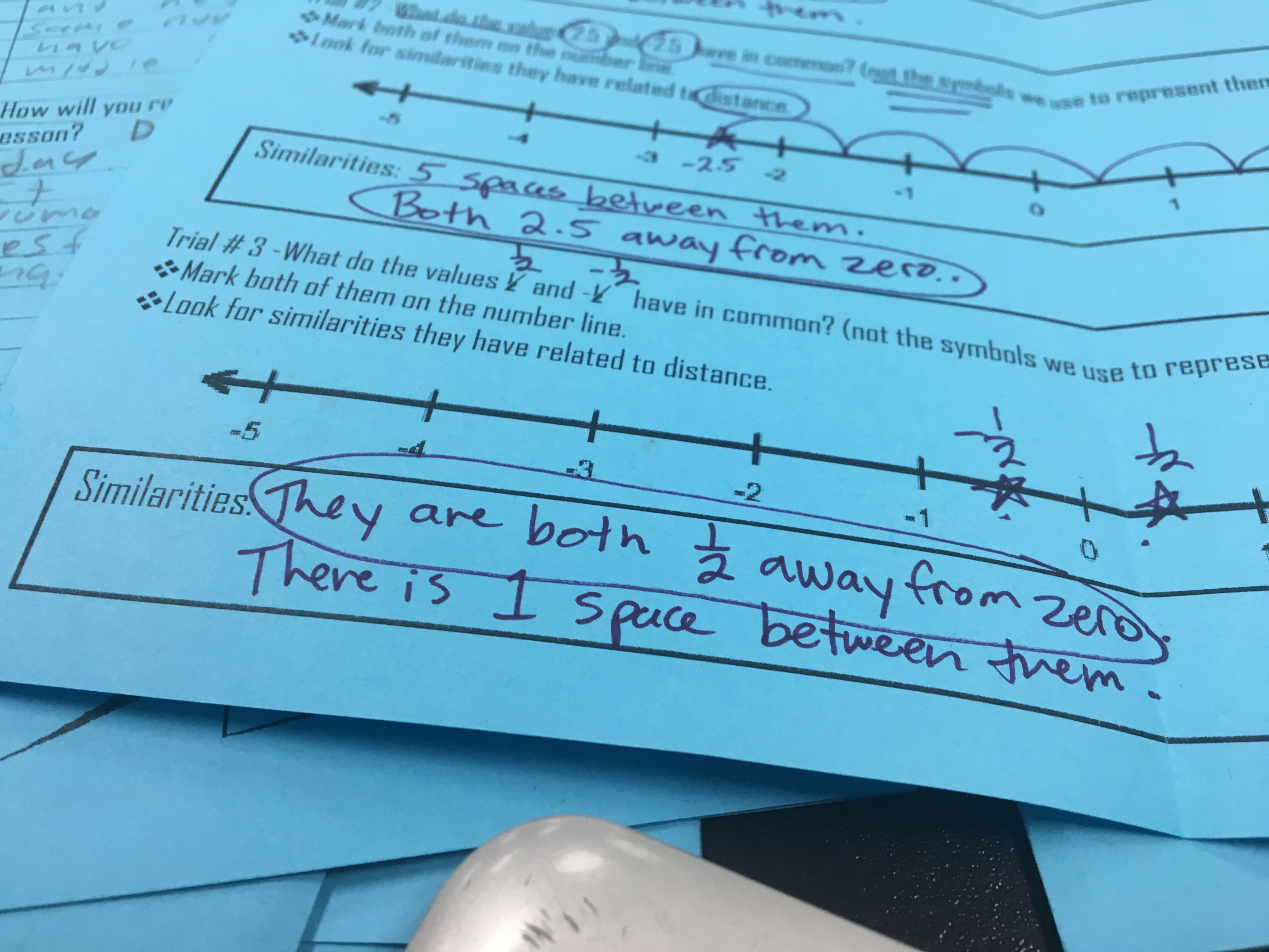 Teaching Absolute Value with Discovery Labs | Pinterest