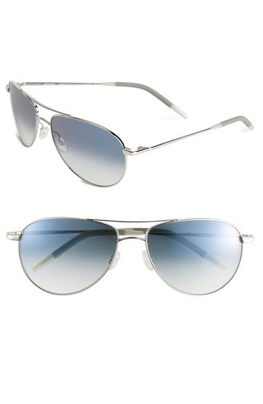 Oliver Peoples Benedict 59mm Aviator Sunglasses Available At