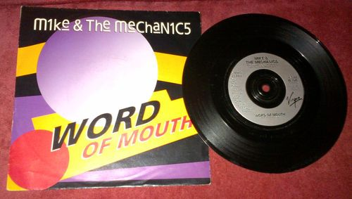"Mike & The Mechanics Word Of Mouth / Let's Pretend It Didn't Happen 7"" vinyl  #uniqbeats #ebay #ebayuk"