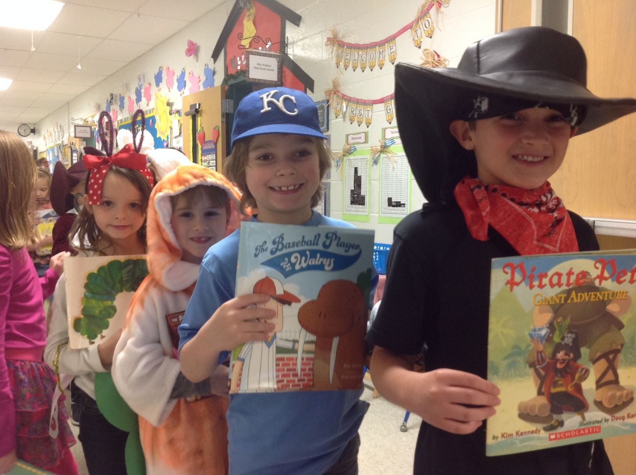 First Grade Character Parade Tours Mps