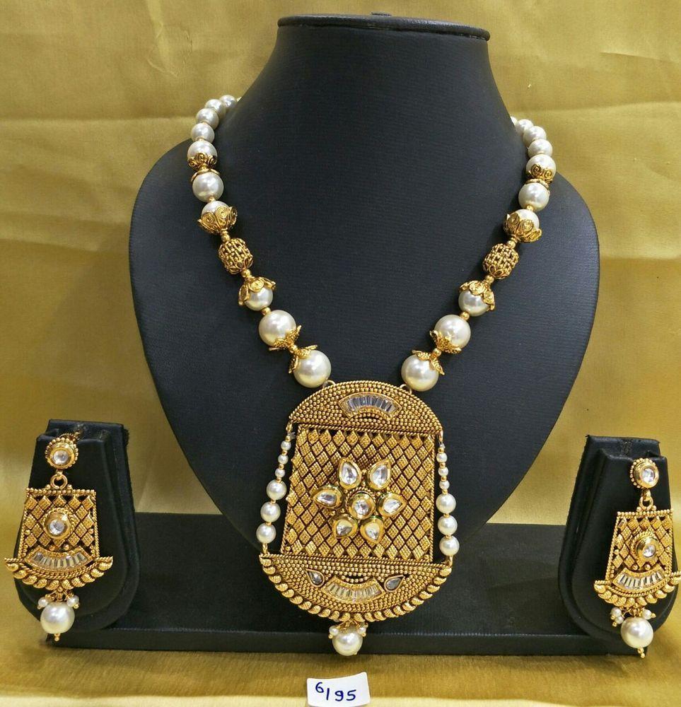 Pin von Vgjewel auf Indian AD jewelry Nacklace ...