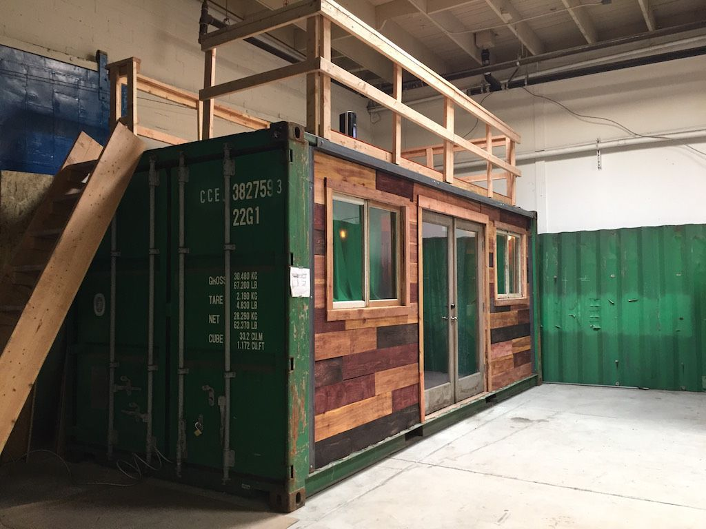 Container Cabin Tiny House Families Shipping Container
