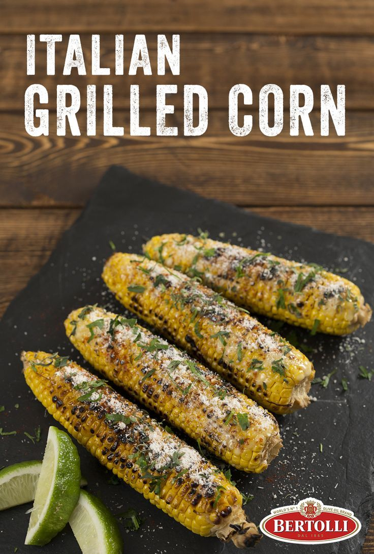 A fun, Italian twist on traditional Mexican Street Corn! This amazing grilled corn from Chef Fabio Viviani kicks it up a notch with olive oil mayonnaise and his favorite Italian flavors.