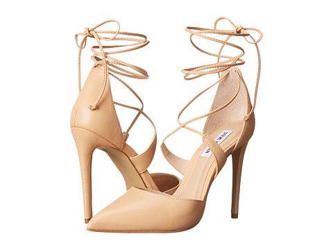 Steve Madden Raela Blush Leather #summerheels #nude #anklestraps · Steve  Madden HeelsMadden ShoesWrap ...