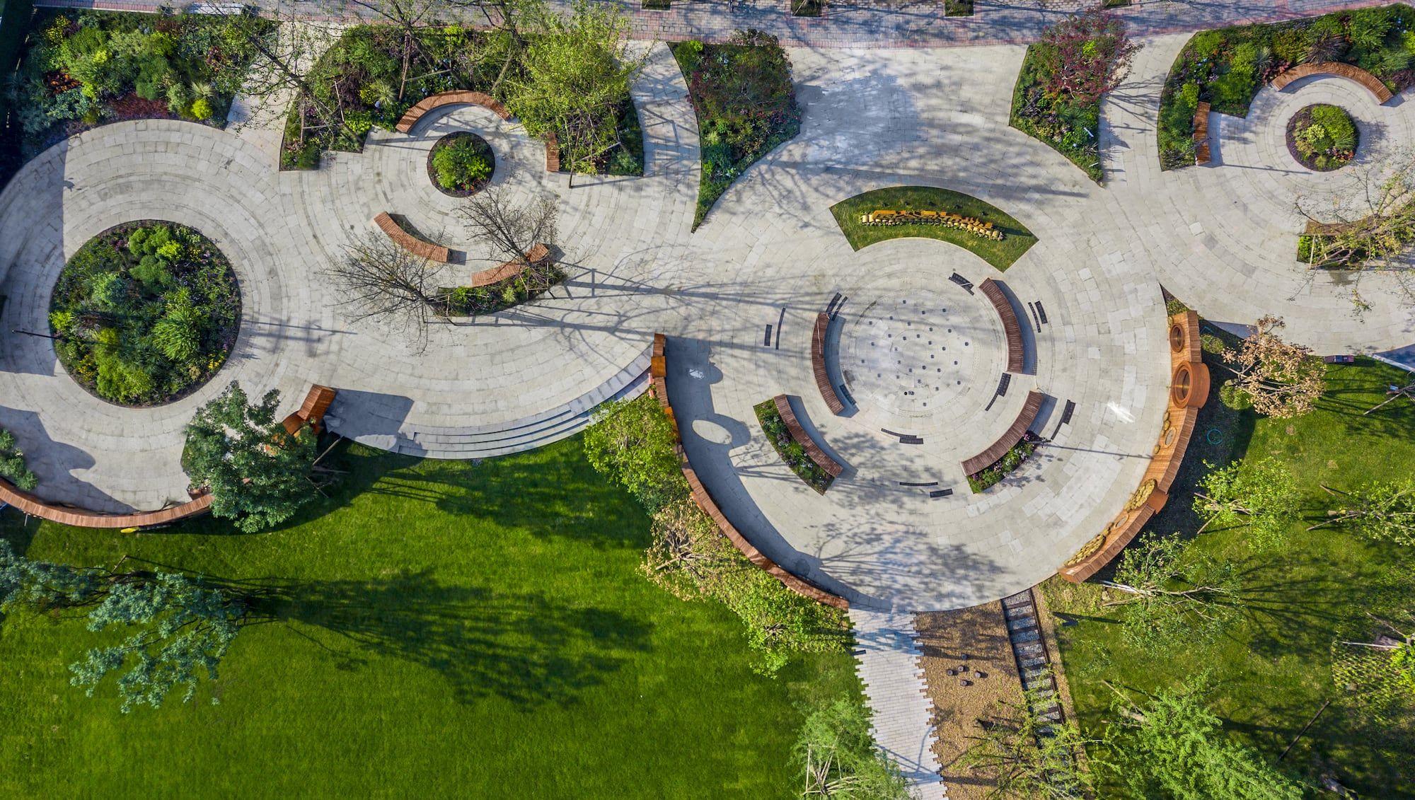 Shaheyuan Park By Aobo Mooool Park Modern Landscaping City Landscape