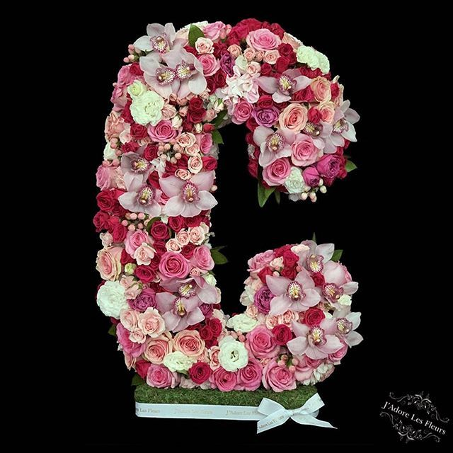 Not Your Average Floral Letter Available At Jadorelesfleurs Online Store Jlfletters Fresh Flower Delivery Flower Delivery Floral Letters