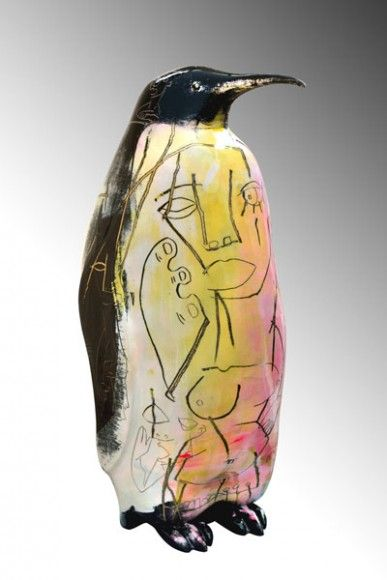 Artist and sculptor Julien Marinetti's art is a peek into his mysterious and curious personality.