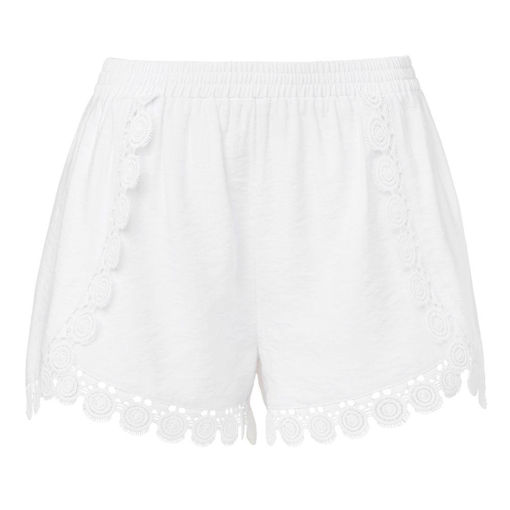 Lace Trim Short