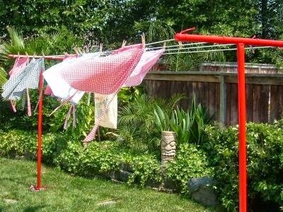 Clothesline Idea Clothes Line Clothesline Poles Vintage Housewife