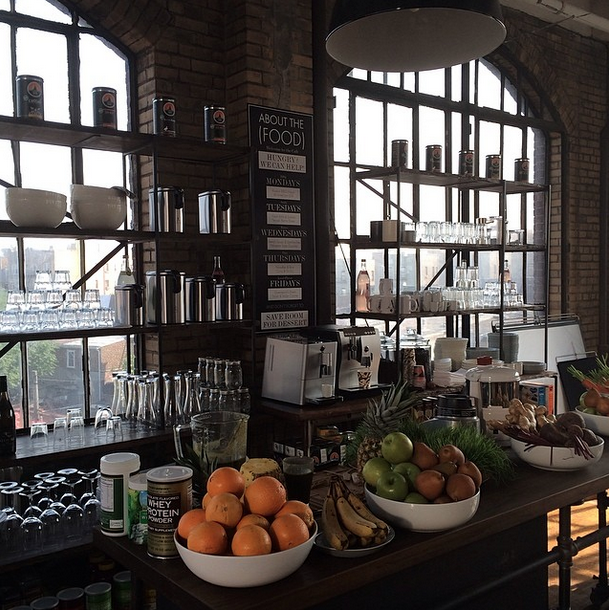"""""""The Juice Bar At Annie's Startup. I Want To Work Here"""