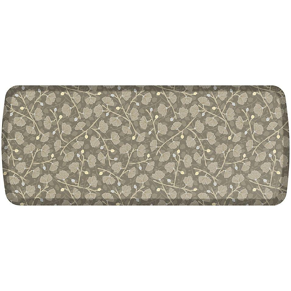 Gelpro Elite Decorator Organic 20 X 48 Kitchen Mat In Mushroom