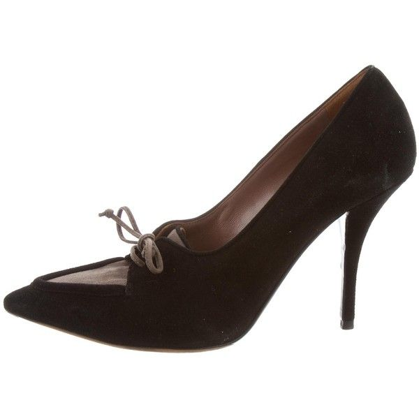 buy cheap enjoy Tabitha Simmons Suede Pointed-Toe Pumps sale best seller clearance footaction 2ZJ4xQzSmu