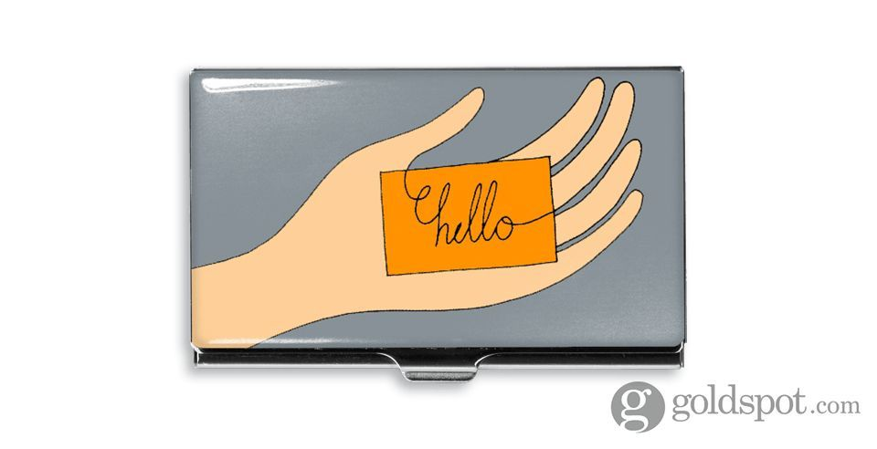 Acme Hello Business Card Case