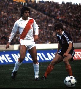 Oblitas vs. Escocia - 1978