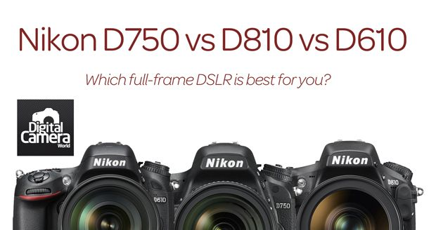 Nikon D750 Vs D810 Vs D610 10 Key Differences You Need To Know Camera Nikon Nikon D750 Nikon