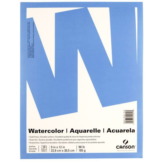 Canson Value Watercolor Pad Products Watercolor Paper Paper