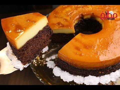 أعدت السيدة امتياز الجيتاوي كيك قدرة قادر والتي تعتبر من الحلويات المبتكرة والمكونة من ثلاث طبقات طبقة من الكراميل Desserts Dessert Recipes Lebanese Desserts